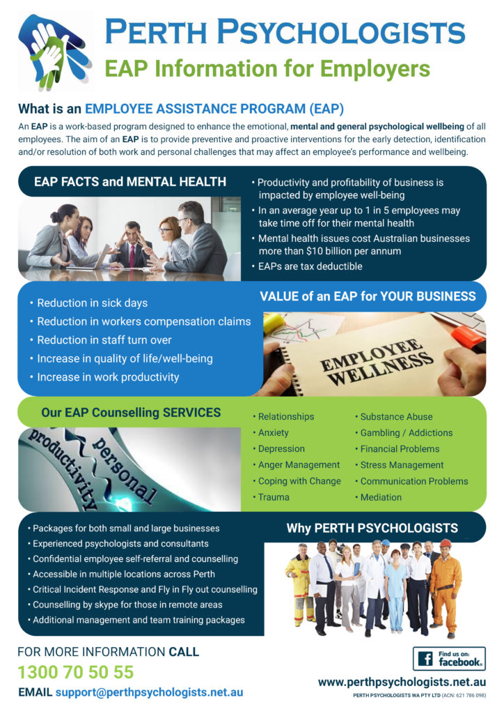 EAP Information For Employers Flyer